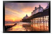 Eastbourne Sunrise, Framed Print