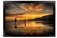End Of A Perfect Day, Framed Print
