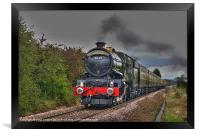 The Age of Steam., Framed Print