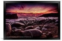 Sunset at Dollar, Framed Print