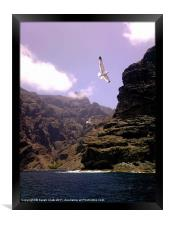 Flyby Mountain, Framed Print