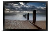 Sea View over the Solent, Framed Print