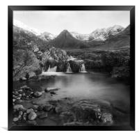 The Fairy Pools, Framed Print