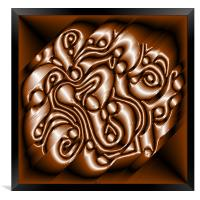 Chocolate Swirl, Framed Print