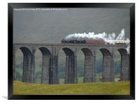 Ribblehead Viaduct, Settle and Carlisle, Framed Print