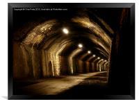 Chee Tor No 1 Tunnel, Derbyshire, Monsal Trail, Framed Print