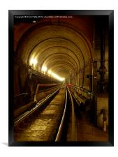 Thames Tunnel, London, Brunel, Framed Print