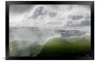 Waves in Ireland, Framed Print