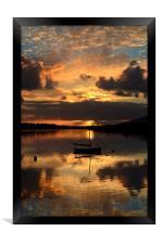 Sunset in Dingle, Framed Print