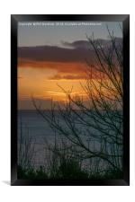 Torbay Sunrise, Framed Print