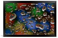 Color Drops, Framed Print
