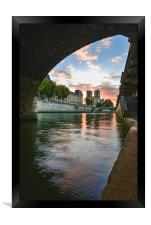 Paris Sunrise, Framed Print
