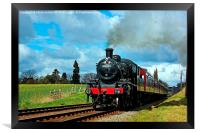 Steam Loco 46521, Framed Print
