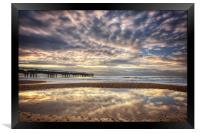 The Late Sunrise, Framed Print