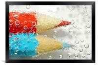 Fuzz Bubbles, Framed Print