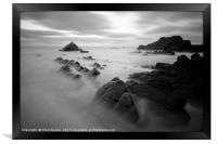 Sandymouth Beach 6.0, Framed Print