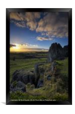 Harborough Rocks 1.0, Framed Print