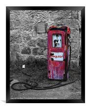 Gasoline ends, Framed Print
