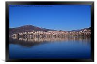 Panoramic Kastoria 2, Framed Print