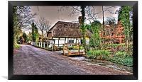 Thatched Cottage Kent, Framed Print
