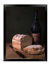 Bread & Wine, Framed Print