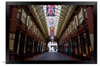 Leadenhall Market London, Framed Print