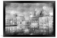 Three Mills Bow London Vintage, Framed Print