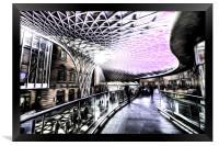 Kings Cross Station Art, Framed Print