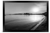 Bodrum Bay Sunset, Framed Print