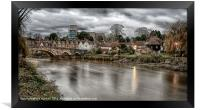 A VIEW TO AYLESFORD, Framed Print