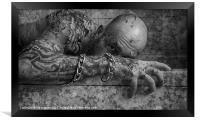 THE SICKNESS, Framed Print
