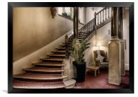 THE GRAND STAIRCASE, Framed Print