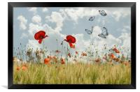 spring is in the air, Framed Print