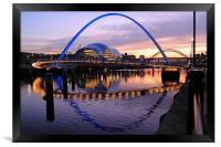 Newcastle Quayside, Framed Print