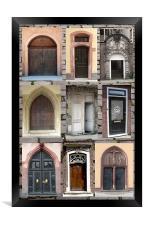 Doorways , Framed Print