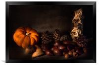 Halloween Still Life - 2, Framed Print