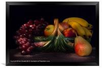 Fruit Still Life, Framed Print