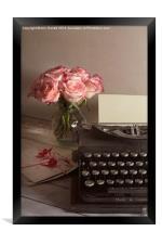 The Love Letter, Framed Print