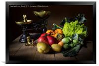 The Greengrocer, Framed Print