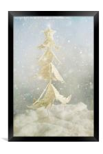 Christmas Tree Fantasy, Framed Print