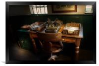 The Office, Framed Print