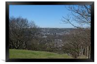 Colne Valley View, Framed Print