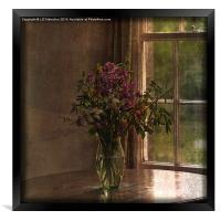 Vase with Flowers, Framed Print