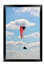 up up and away, Framed Print