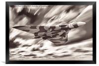 Avro Vulcan Bomber B2 (XH558), Framed Print