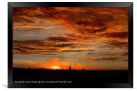 Norwich is breathtaking, Framed Print