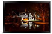 Pulls Ferry Norwich, Framed Print