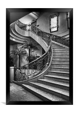 Spanish Stairs, Framed Print