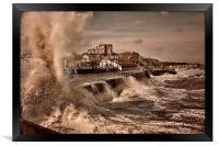 Storm Surge , Framed Print