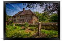 Church House Loose, Framed Print